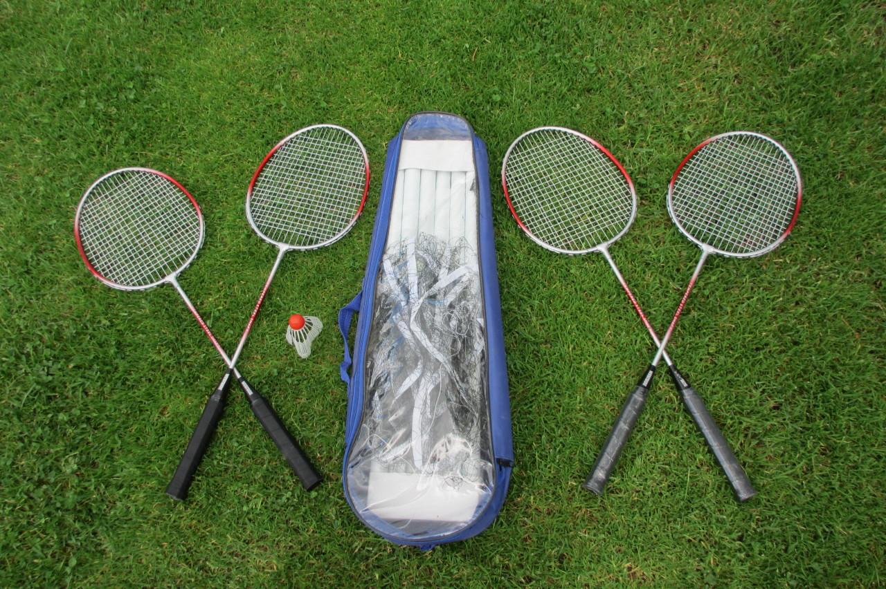 Bílé Poličany – chalupa Bílé Poličany – sada na badminton