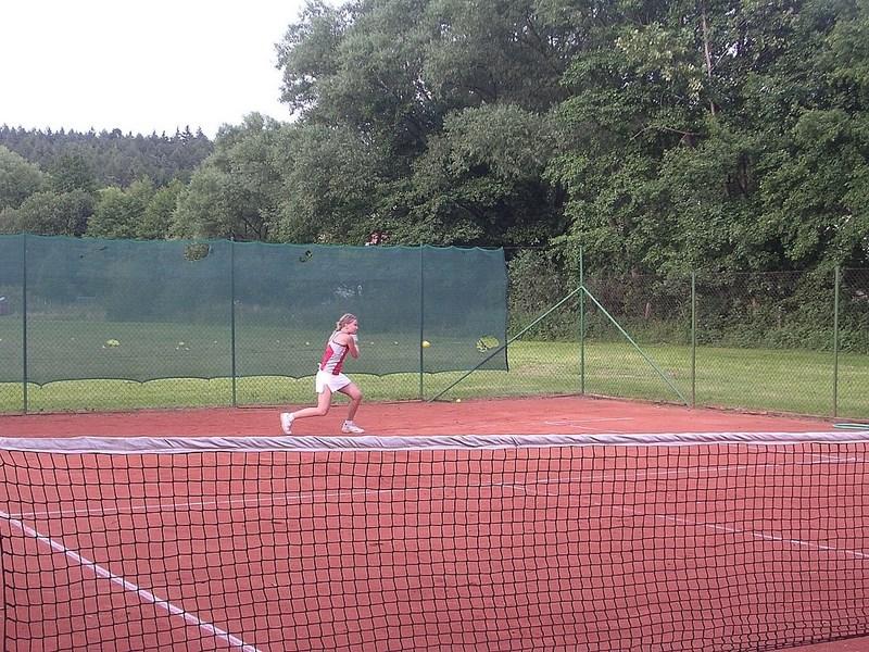 Bílé Poličany – lanžovské koupaliště, tenisové hřiště