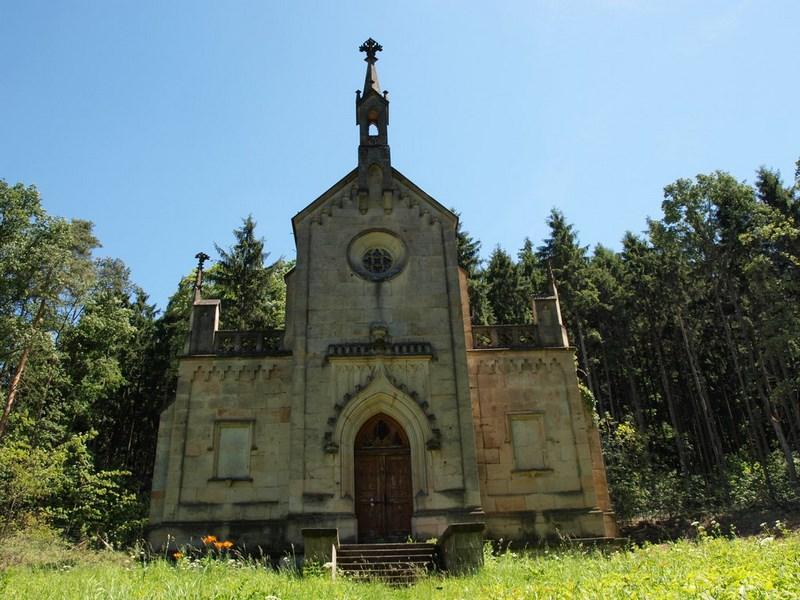 Bílé Poličany – Lanžov – hřbitov