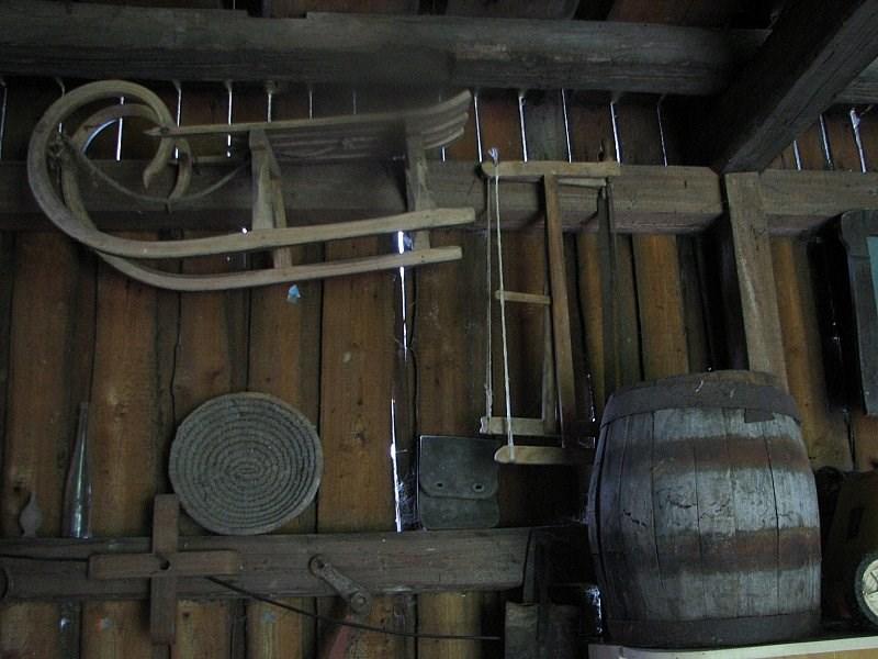 Chalupa Bílé Poličany – minimuzeum hospodářských nástrojů