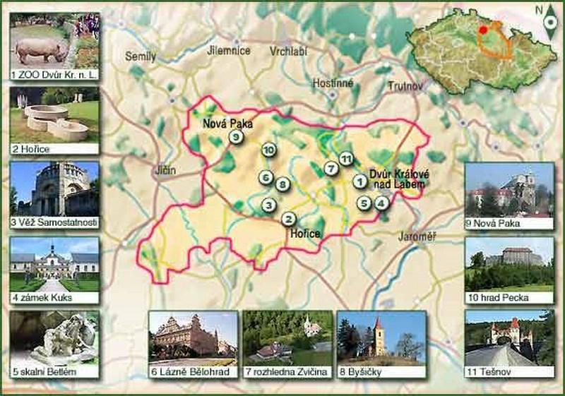 Turistika – Tipy na výlety v Podkrkonoší