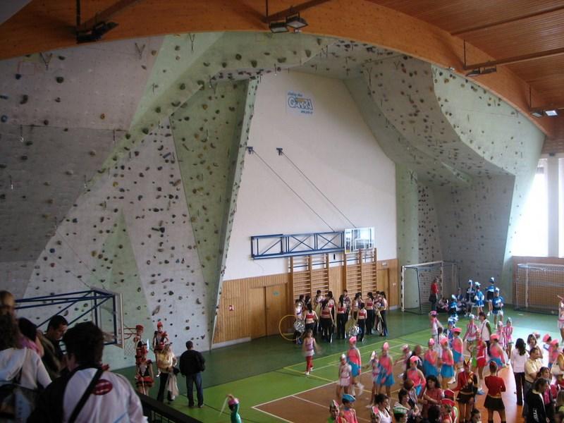 Turistika – Hořice v Podkrkonoší – horolezecká stěna