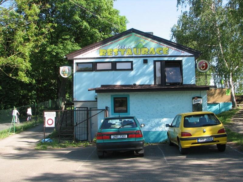 Velký Vřešťov – letní Restaurace u Žabky – autokemp Velký Vřešťov