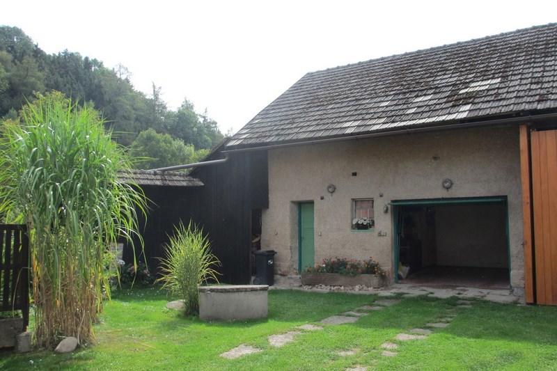 Chalupa – Velký Vřešťov, garáž