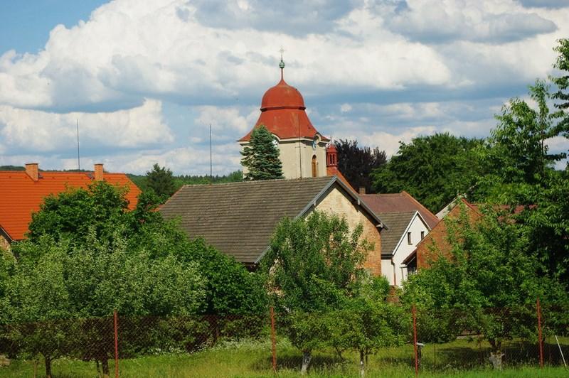 Velký Vřešťov – Římskokatolický kostel