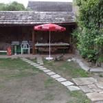 Chalupa - Velký Vřešťov, na terase
