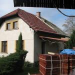 Nová střecha - duben 2014