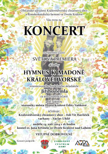 Koncert s premiérou 14.9.2014-plakat