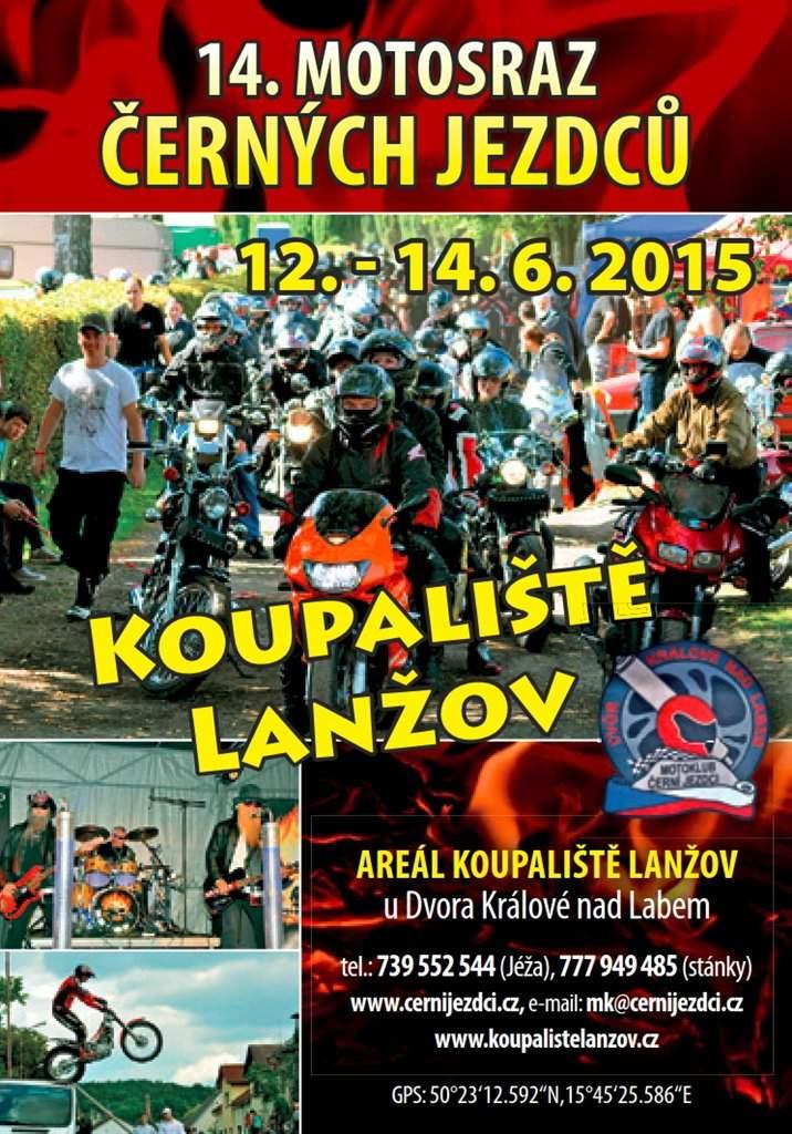 Motorkáři - Lanžov